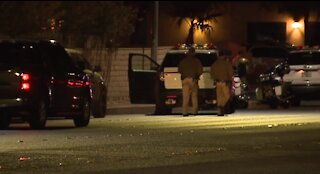 Vegas PD: Pedestrian hit, killed in crash at Warm Springs, Spencer