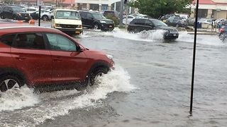 Torrential Downpours Trigger Flooding on Long Island - Video