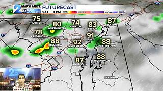 Rain Chances Continue