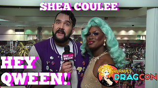 Shea Coulee at DragCon 2017! on Hey Qween! - Video