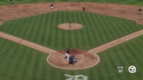 Miguel Cabrera doubles in Tigers spring win