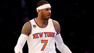 Knicks Drop Shady Hint that Carmelo Anthony Won't Be on the Team Much Longer - Video
