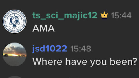 UNEXPECTED MAJESTIC 12 AMA ON KEYBASE 🤯 @ts_sci_majic12 (Ask Me Anything)