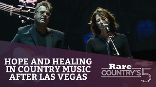 Hope and Healing in Country Music after Las Vegas | Rare Country's 5 - Video
