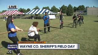Tug of War at WCSD Field Day - Video