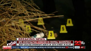 BPD investigating homicide in Central Bakersfield