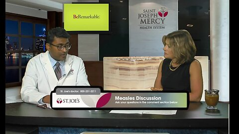 St. Joseph Mercy webcast on Measles