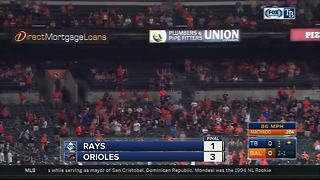 Gabriel Ynoa pitches 8 solid innings to lead Baltimore Orioles past Tampa Bay Rays 3-1 - Video