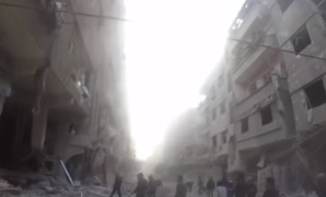 Intensified Airstrikes Hit Opposition Areas in East Damascus - Video