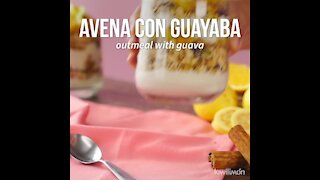 Oatmeal with Guava