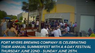 Fort Myers Brewing Annual SummerFest - Video