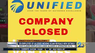 Ex-Employee of Alleged Moving Scam Reveals New Details - Video