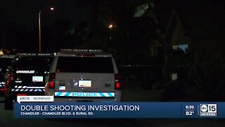 Chandler PD investigating double shooting