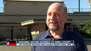 Bakersfield's ties to 2017 Dodgers - Video