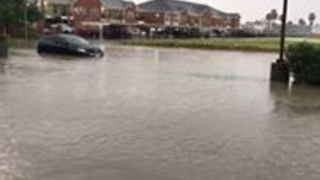 Cars Partially Submerged as Rain and Floods Continue in South Texas - Video