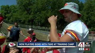 Chiefs players say they love meeting fans