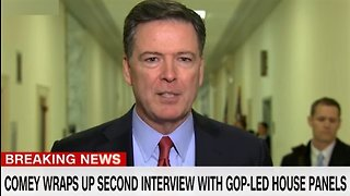 James Comey rips Trump after second Congressional hearing
