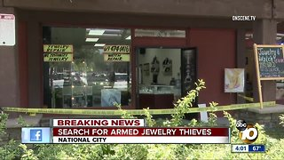 National City Police searching for suspects in store robbery