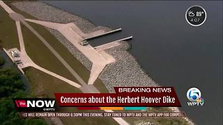 Harvey reinforcing concerns about Herbert Hoover Dike at Lake Okeechobee - Video