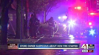 Blaze destroys, damages several east side KCMO businesses