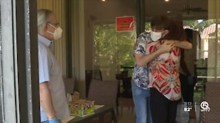 Boca Raton family reunited after 188 days apart