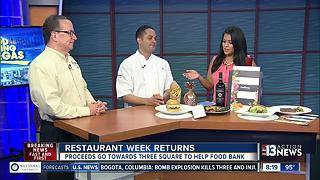 Restaurant Week featuring more than 150 restaurants - Video