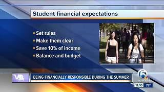 Money tips for college students this summer - Video