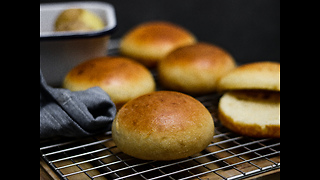 How to make potato burger buns - Video