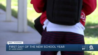 St. Lucie County students head back to school with new safety precautions