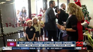 31st annual Holiday Cottage's grand opening