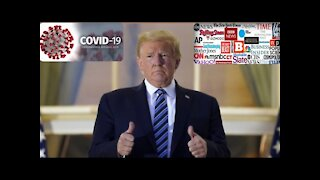 The Mainstream Media's Campaign Of Hate Against President Trump About Covid-19