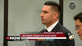 Deputy charged with sexual assault - Video
