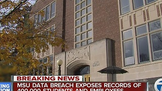 Data breach exposes records of MSU students, employees - Video