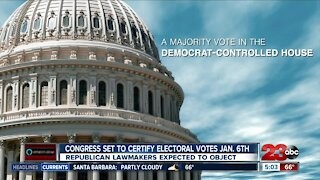 Congress set to certify electoral votes on Jan. 6th
