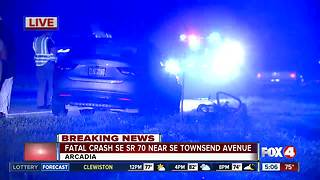 Crash leaves one dead in Arcadia - Video