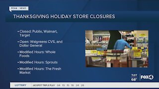 Local Holiday Closures Lee County
