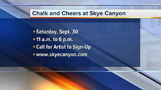 Skye Canyon host Chalk and Cheers artist event - Video