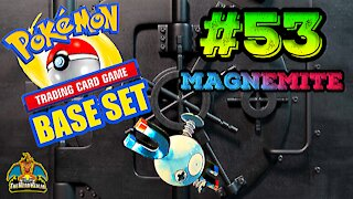 Pokemon Base Set #53 Magnemite | Card Vault