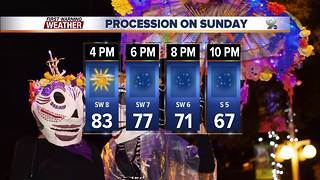 Chief Meteorologist Erin Christiansen's KGUN 9 Forecast Thursday, November 2, 2017 - Video