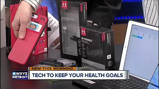 Tech to keep your New Year's Resolutions - Video