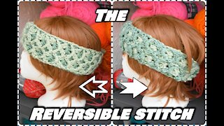 How to Crochet the Two Color Reversible Stitch