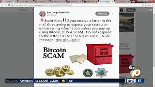 Sheriff's Department warns abqout Bitcoin scam - Video