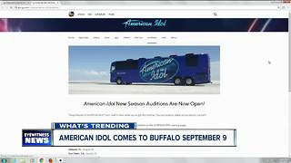 Date announced for American Idol auditions in Buffalo - Video