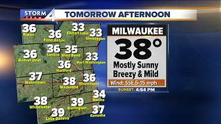 Warmup Thursday, high temps near 40 - Video
