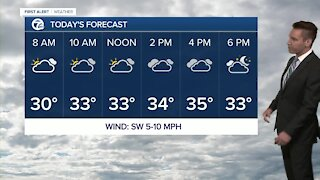 Metro Detroit Forecast: Cloudy week with above-average temps