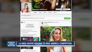 La Mesa native to compete for Miss America crown - Video