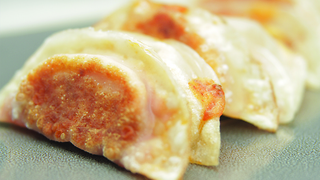 Homemade Pizza Gyoza