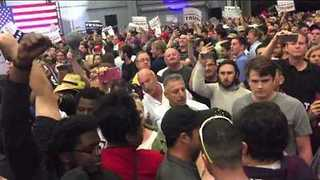 Trump Protesters Ejected From New Orleans Rally - Video