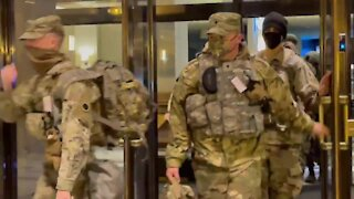 Military Fortifies U.S. Capitol - DC Under Martial Law