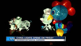 China Lights opens this weekend in Hales Corners - Video
